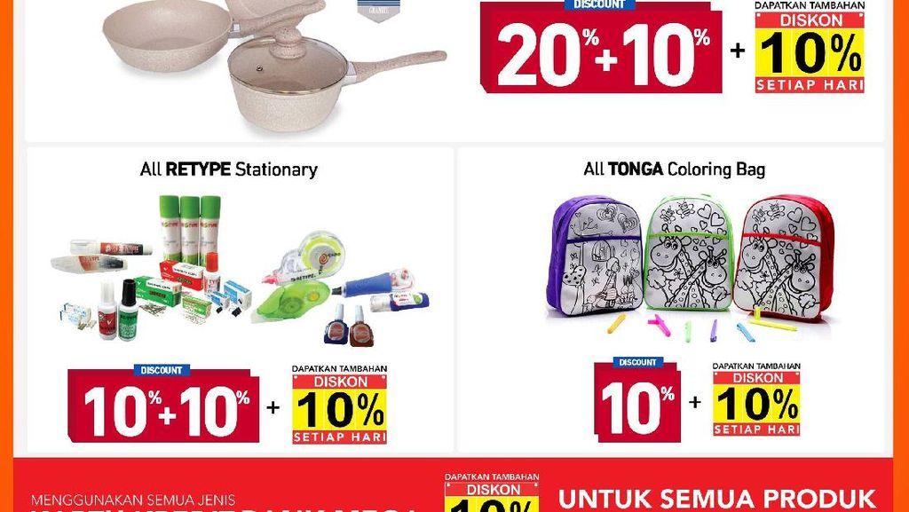 Serba Promo 10 Hari Ini di Transmart dan Carrefour
