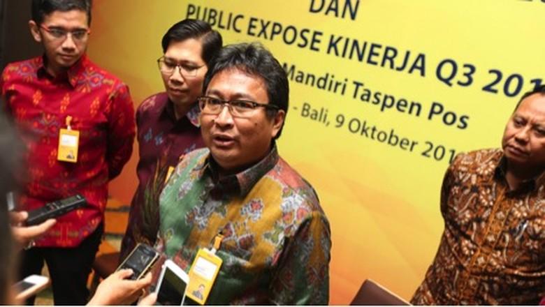 Laba Bersih Tumbuh 172,7 %, Direktur Bank Mantap: Kinerja Membaik