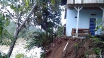 Longsor di Tegalbuleud Sukabumi, Tutup Jalan dan Ancam 3 Rumah