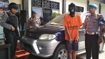 Bawa Kabur Mobil Pensiunan Polisi, Andreas Diamankan