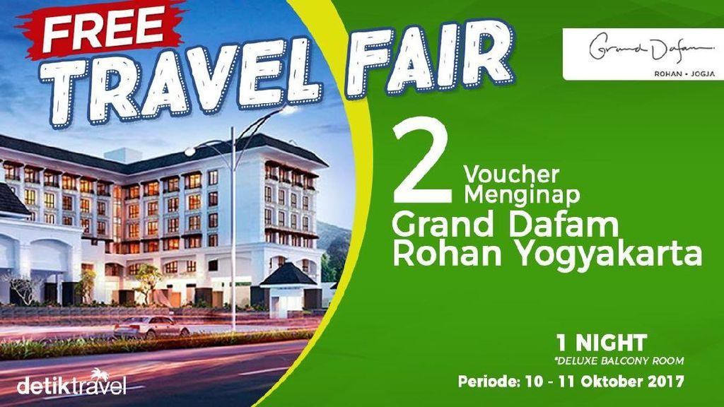 Pemenang Free Travel Fair Periode 10-11 Oktober 2017