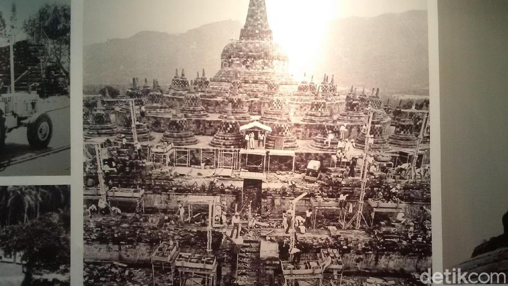 Foto: Pameran Foto-foto Candi Borobudur Dipugar