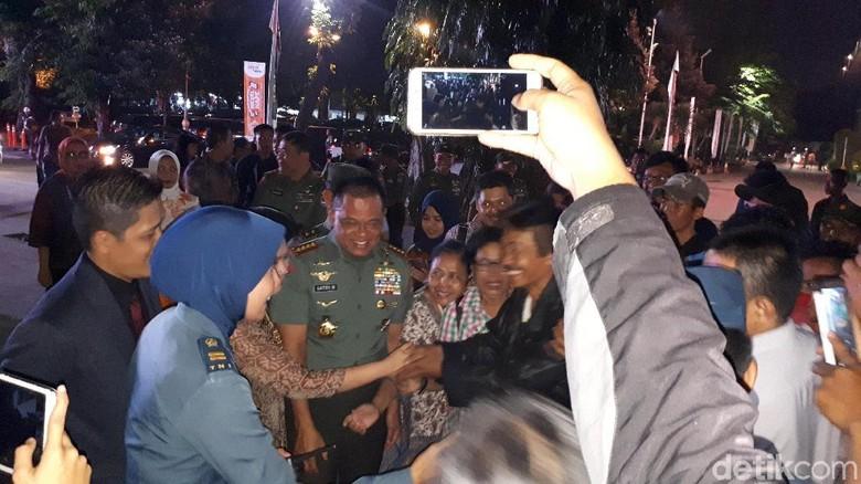Panglima TNI Hadiri Acara Festival Film Nusantara di TIM Cikini
