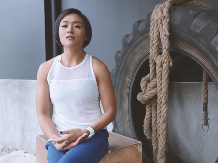 Jemima Djatmiko, wanita inspiratif yang bangkit dari keterpurukan lewat olahraga ekstrem/Foto: 20detik