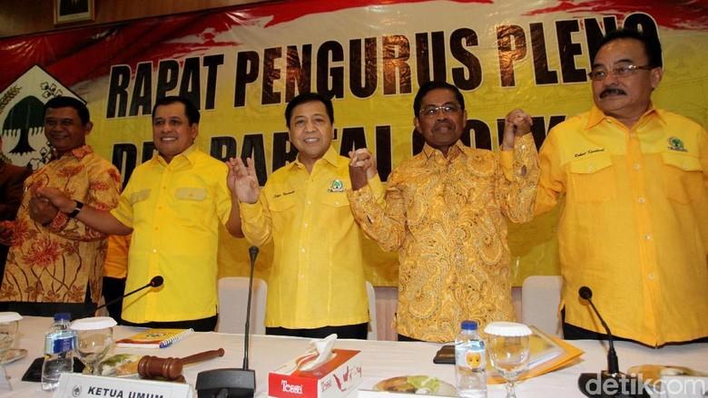 Pengamat: Pensiunan Jenderal di Golkar akan Amankan Posisi Novanto