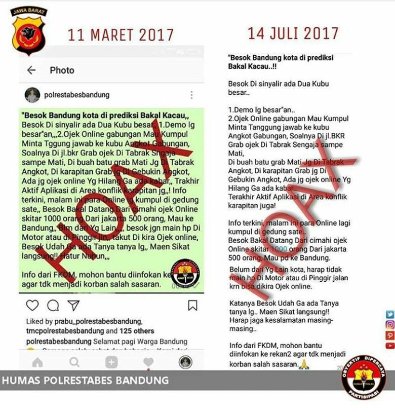 Ojek Online dan Angkot di Bandung akan Bentrok Hari Ini, Benarkah?