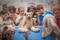 Winnie the Pooh dan kawan-kawan diletakan di Children Centre perpustakaan nasional New York (NYPL The New York Public Library/Facebook)