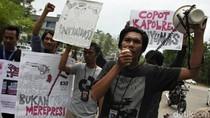 Jurnalis di Kendari Protes Kasus Kekerasan pada Wartawan Banyumas