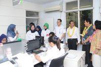 Kunjungan Dirut BPJS Kesehatan dan Ketua KKI ke Rumah Sakit Pelni, Senin (9/10/2017) / Foto: BPJS Kesehatan