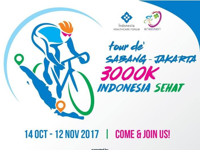 Kampanyekan hidup sehat, 30 orang akan gowes 3.000 Km Sabang-Jakarta/Foto: IndoHCF