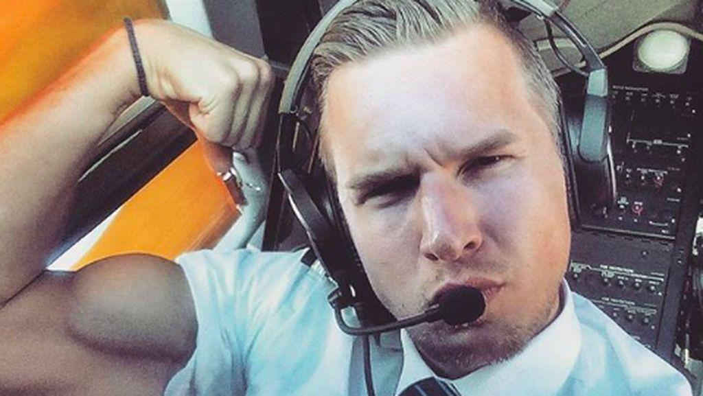 Terlalu Sibuk untuk Olahraga? Pilot Ganteng Ini Mungkin Bisa Menginspirasi