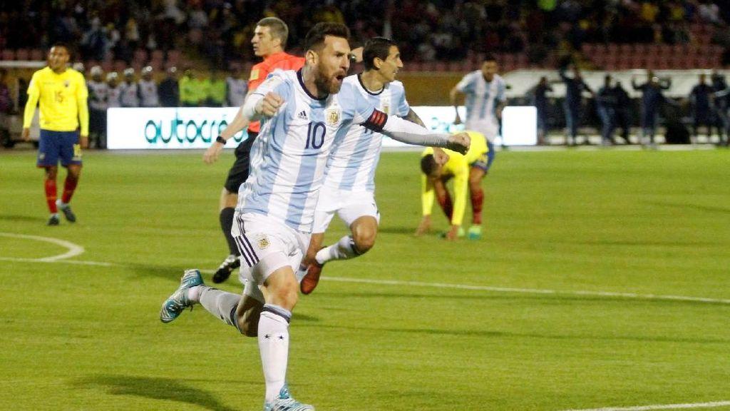 Foto: Messi Sang Juru Selamat Argentina