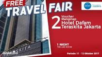 #FreeTravelFair : Tidur Gratis di Hotel Dafam Teraskita Jakarta