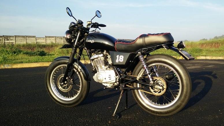 Modifikasi Suzuki Thunder bergaya retro/Pamor