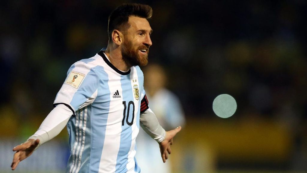 Janji Messi jika Argentina Jadi Juara Piala Dunia: Jalan Kaki 68 KM