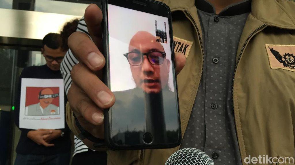 Operasi Mata Novel Ditunda 1 Bulan, KPK: Pemulihan Belum Rata