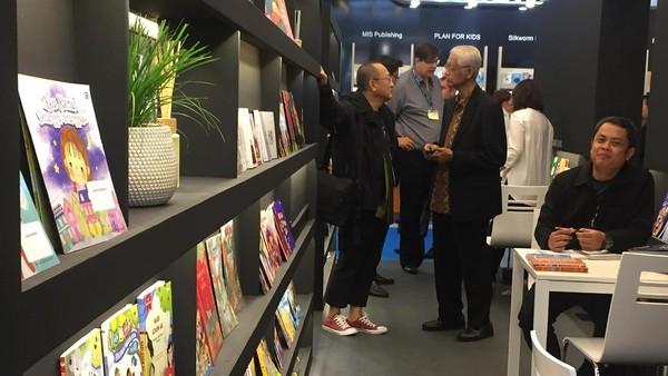 Stand Indonesia di Frankfurt Book Fair 2017 Dipadati Pengunjung