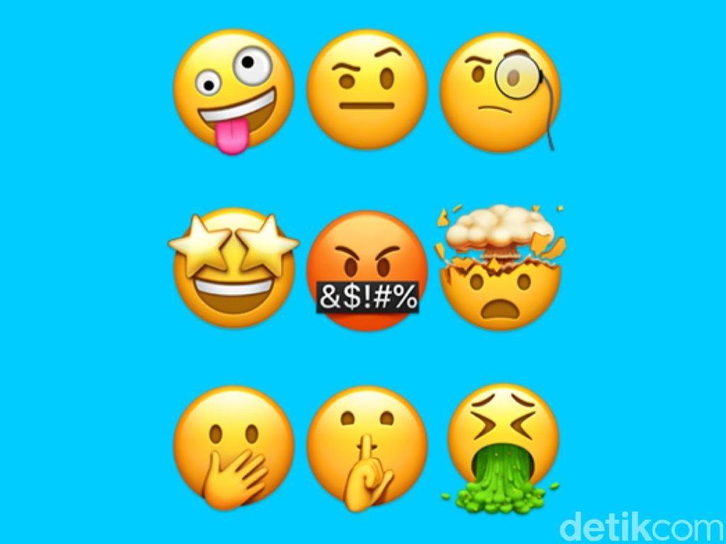 Emoji smile. Foto: Adi Fida Rahman/detikINET