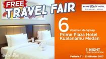#FreeTravelFair : Bermalam Gratis di Prime Plaza Hotel Kualanamu Medan