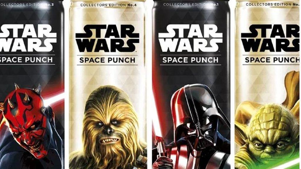 Karakter Populer Star Wars Ada di Kemasan Minuman Ini!