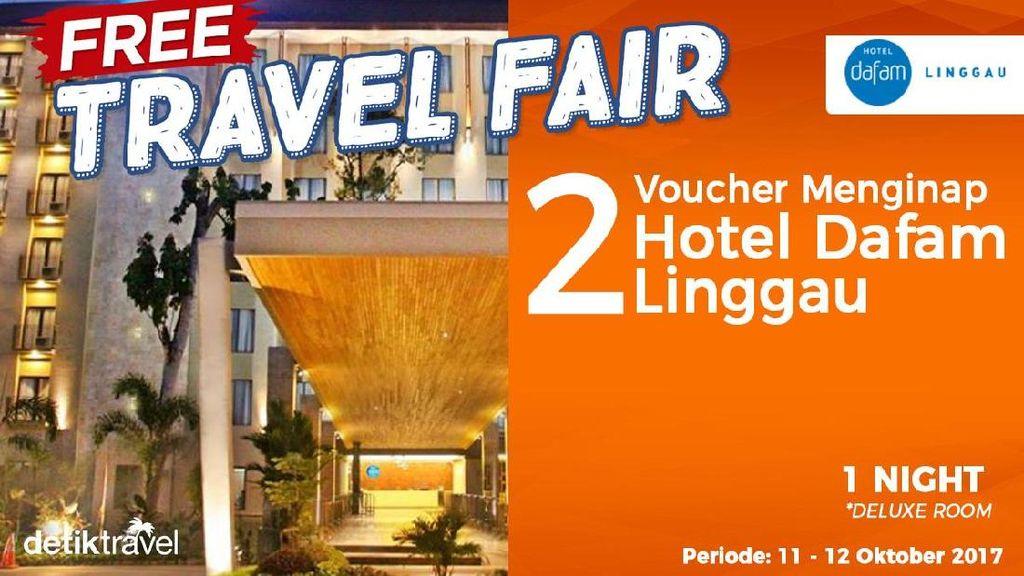 #FreeTravelFair : Voucher Bermalam di Hotel Dafam Linggau