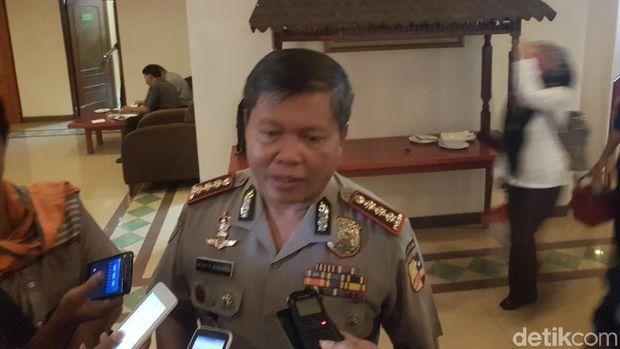 Anggota Pokja Pencegahan Saber Pungli Kombes Pol Ricky F. Wakanno
