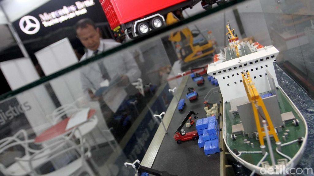 Pelni Ramaikan Pameran Industri Transportasi, Logistik dan Maritim