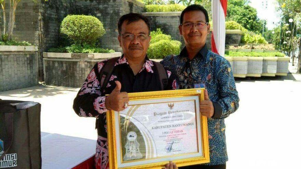 Banyuwangi Raih 4 Penghargaan di Hari Jadi Provinsi Jatim