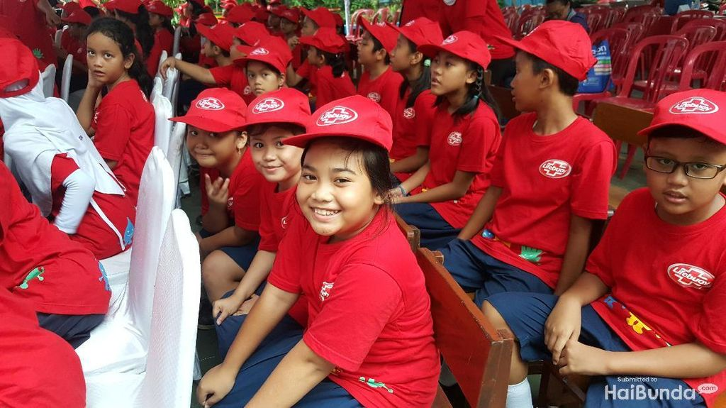Begini Keceriaan Anak-anak SD Peringati Hari Cuci Tangan