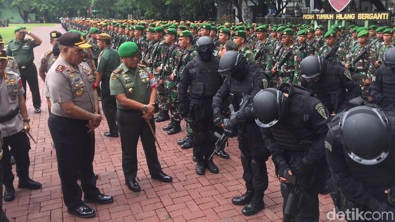 1.750 Personel TNI-Polri Siap Kompak Jaga Kunjungan Jokowi ke Sumut