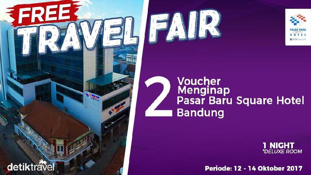 #FreeTravelFair : Voucher Menginap di Pasar Baru Square Hotel Bandung