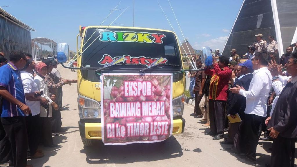 RI Ekspor 30 Ton Bawang Merah NTT ke Timor Leste