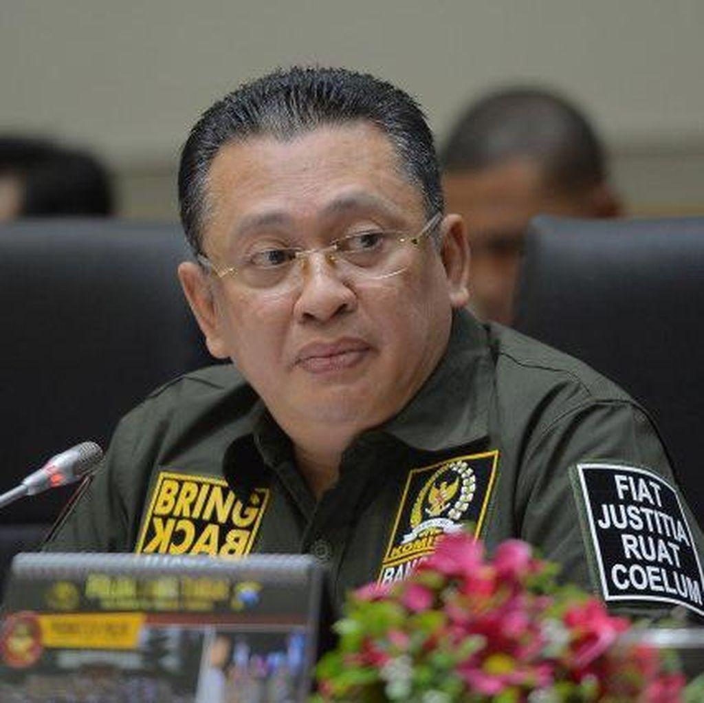 Jadi Kandidat Ketua DPR, Bamsoet Tunggu Restu Setya Novanto