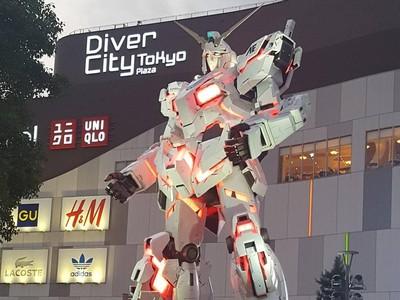 Foto: Liburan ke Tokyo Ketemu Gundam Raksasa