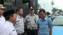 Tangisan-Tak Hafal Pancasila, Begini Penertiban Trotoar di Jaksel