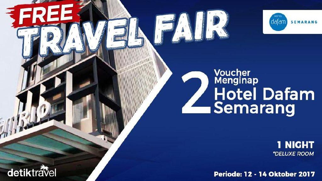 Pemenang Free Travel Fair Periode 12-14 Oktober 2017