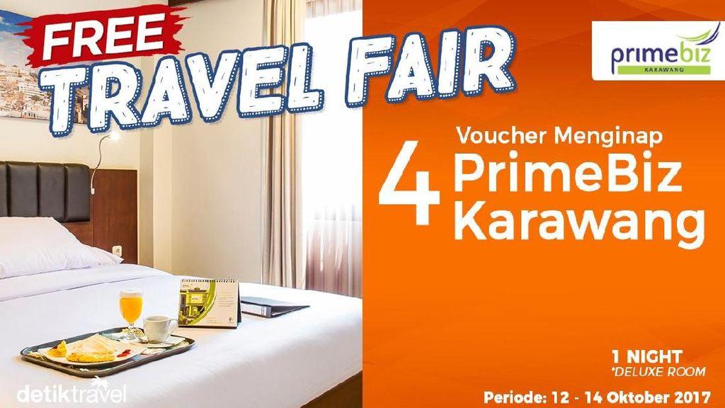 #FreeTravelFair : Bermalam Gratis di PrimeBiz Karawang