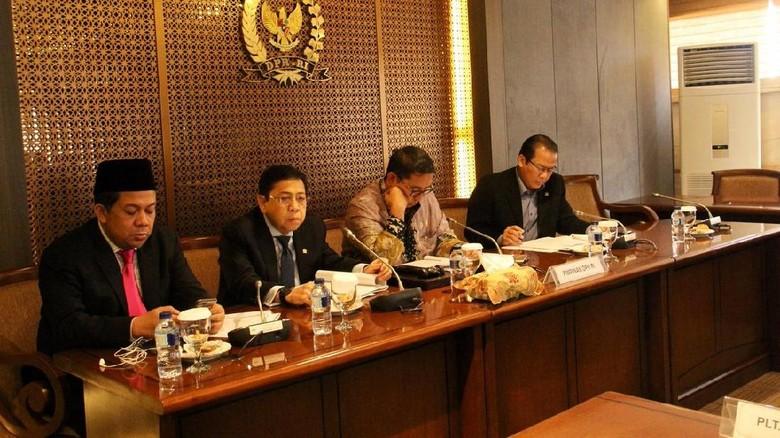 Novanto Hadiri Rapim, Fahri: Dia Tampak Sehat tapi Seakan Terpukul