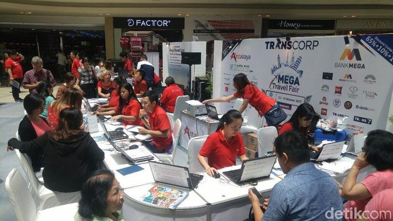 Foto: Mega Travel Fair Semarang (Angling/detikTravel)