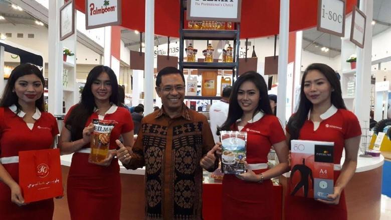Pacu Produk Ekspor, Sinar Mas Ikuti Trade Expo Indonesia 2017