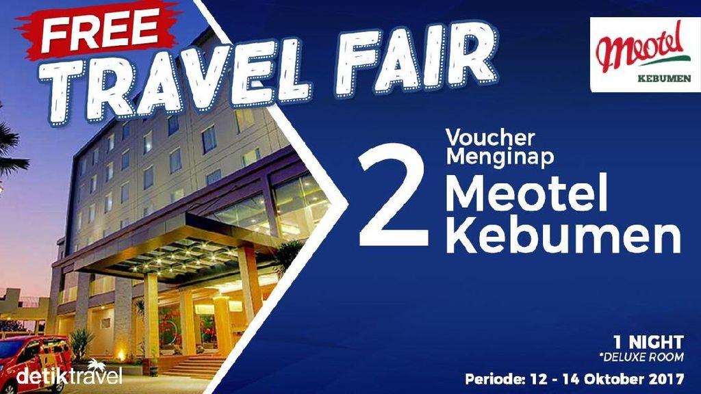#FreeTravelFair : Voucher Bermalam di Meotel Kebumen