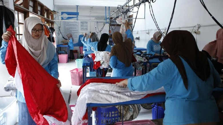 Pakai Gas Bumi PGN, Laundry di Bogor Ini Hemat Biaya Operasi