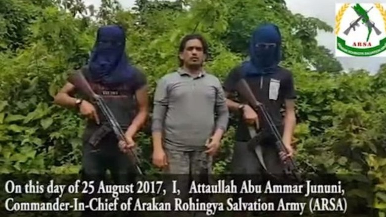 Di Balik Perjuangan Kelompok Militan Muslim Rohingya ARSA