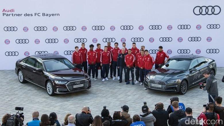 Guyuran Mobil Baru untuk Pemain Bayern Munich
