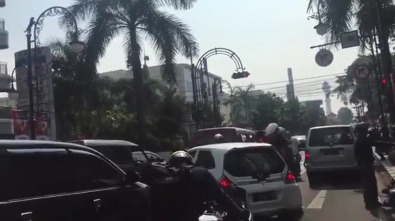 Sopir Mobil Nekat yang Dikejar Pemotor di Bandung Jadi Tersangka