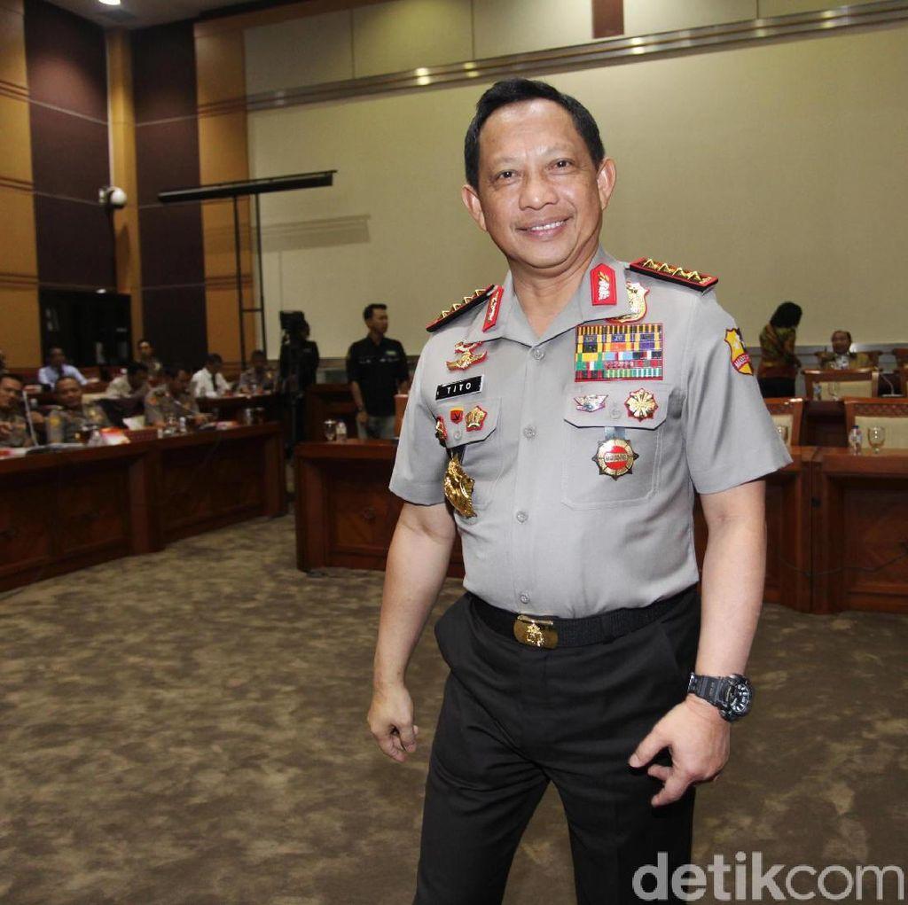 Kapolri Sudah Dapat Laporan Perwira yang akan Maju Pilkada