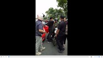Anggota TNI AL Baku Hantam dengan Pemobil di Rawamangun