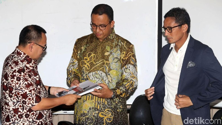 Anies Sebut Sudirman Said Sudah Bisa Pimpin Daerah