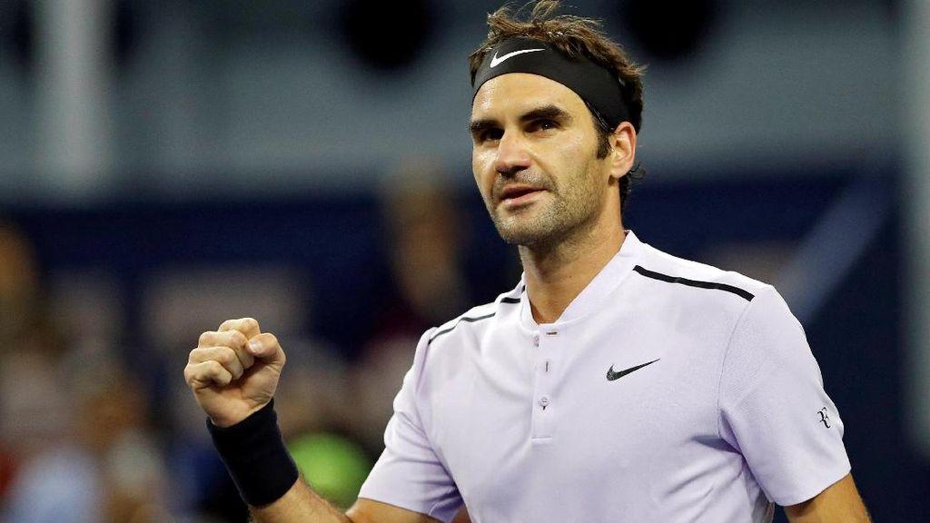 Federer Ditantang Del Potro di Semifinal