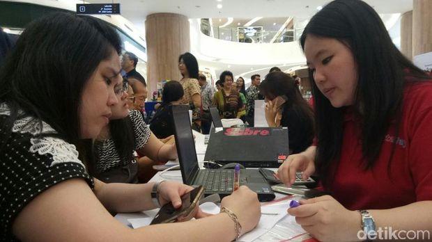Aneka Promo Tiket Pesawat dan Tur Luar Negeri di Mega Travel Fair Palembang